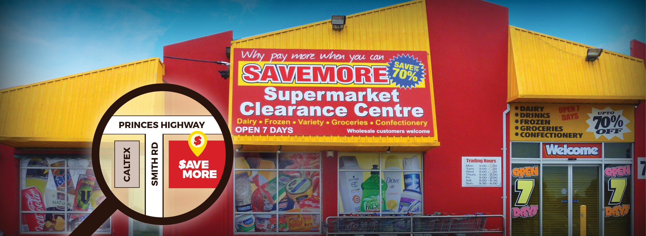 Savemore Supermarket Clearance Centre | Visit us