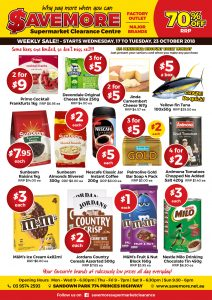 Savemore Weekly Sale Ad (17-23/10)