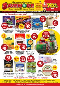 Savemore Weekly Sale Catalogue 13-18 December 2018